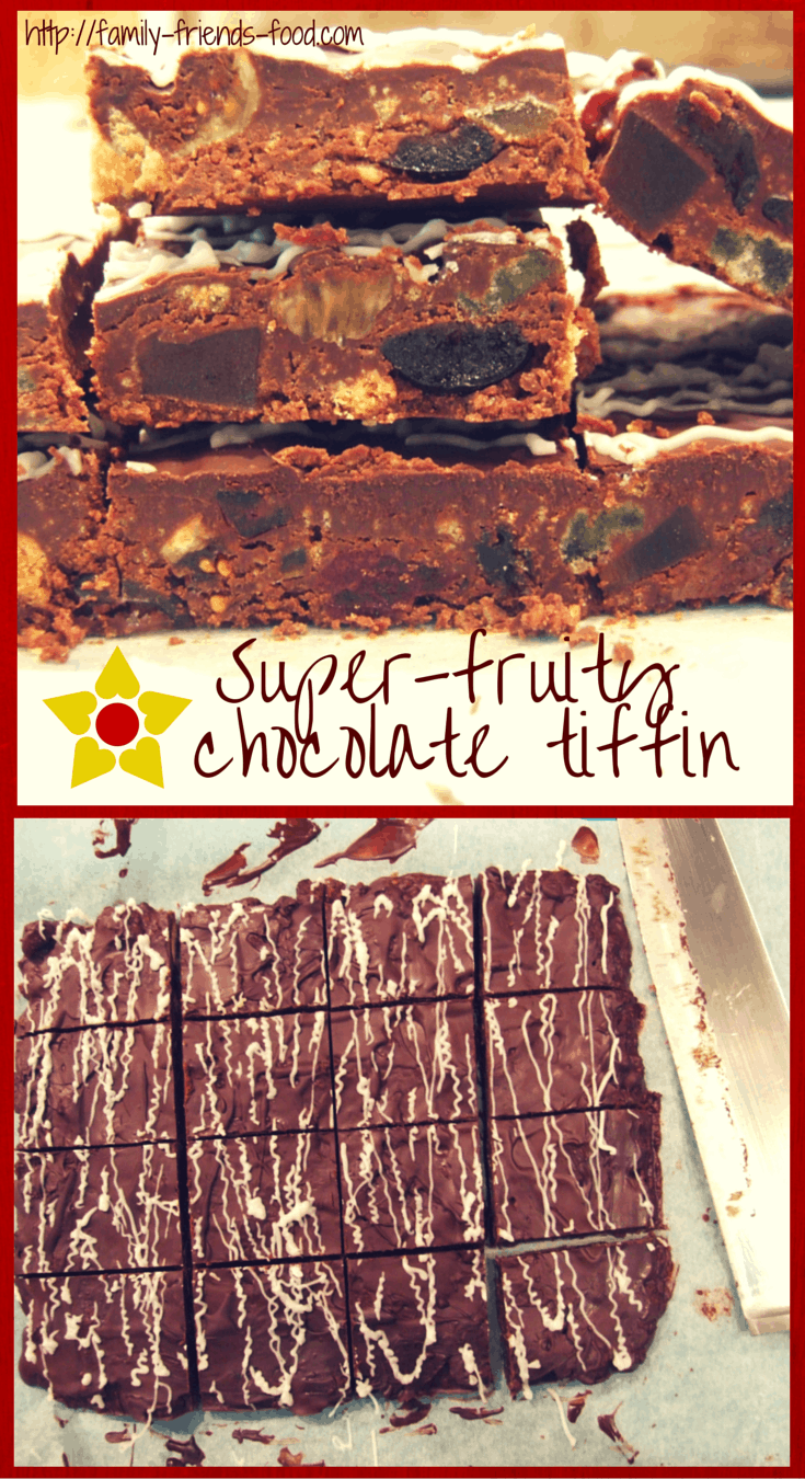 super-fruity chocolate tiffin