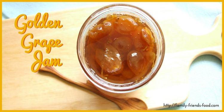 golden grape jam