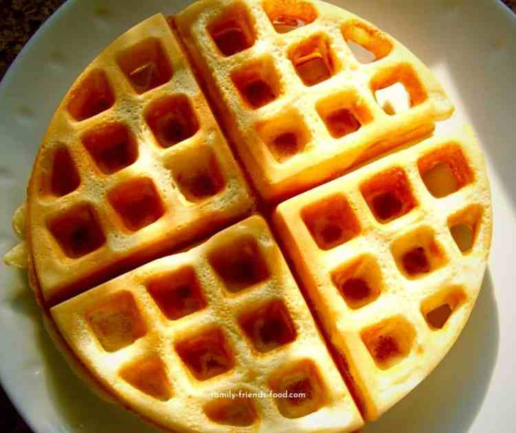 easy peasy waffles.