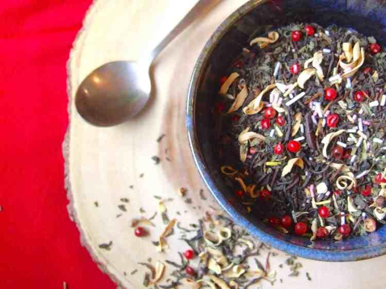homemade festive tea blend
