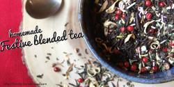 Festive blended tea