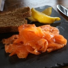 Bleikers traditional oak smoked salmon