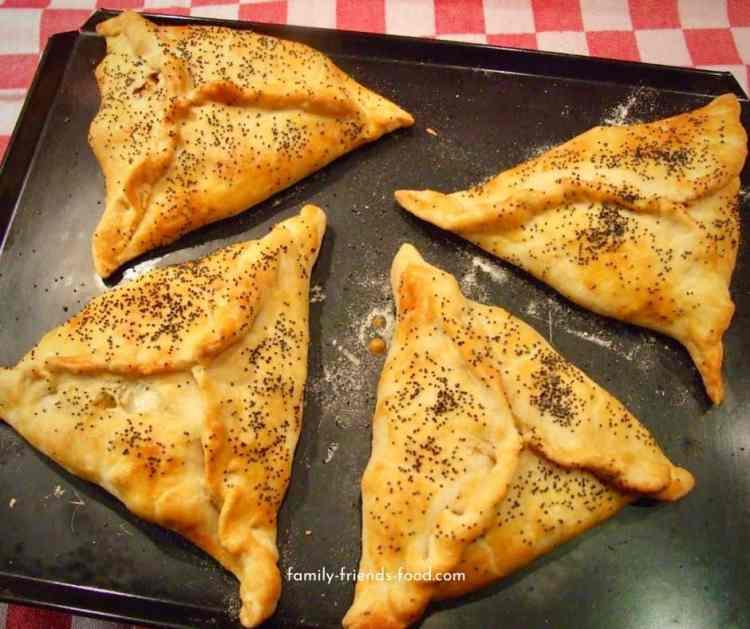 vegetable pasty hamantaschen.