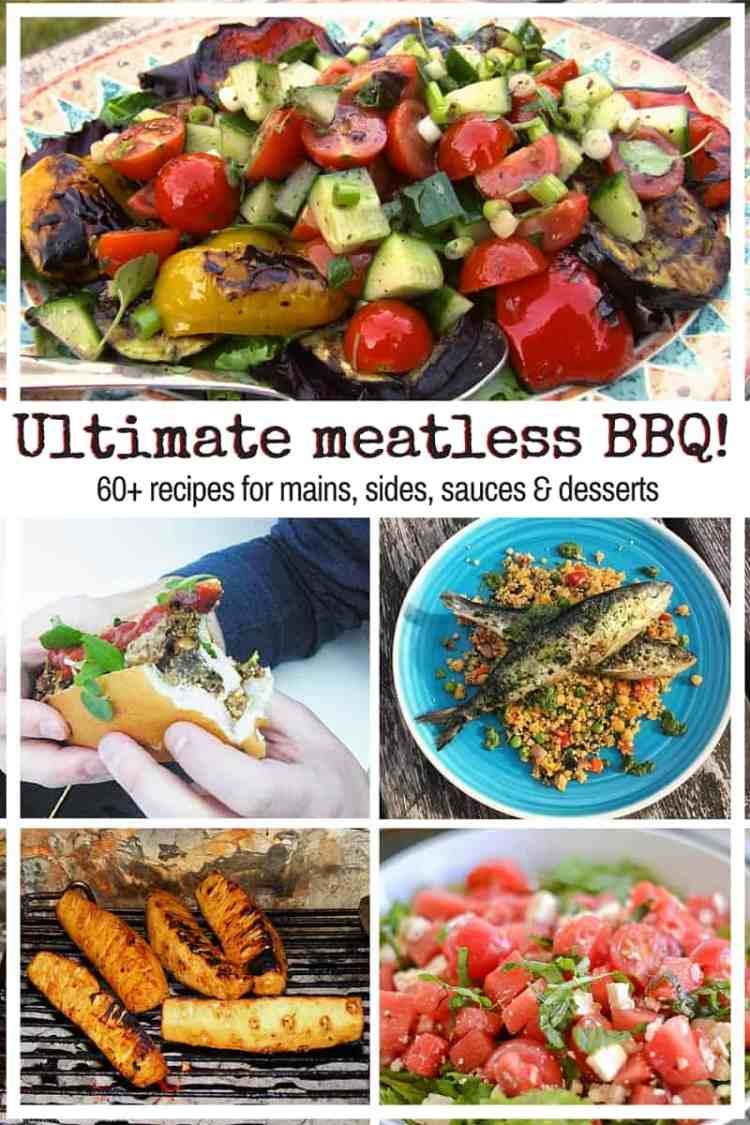 60+ recipes for meatless BBQ mains, sides, sauces & desserts. Vegetarians & pescatarians can enjoy barbecue season too! Perfect for Lag BaOmer & the Summer.