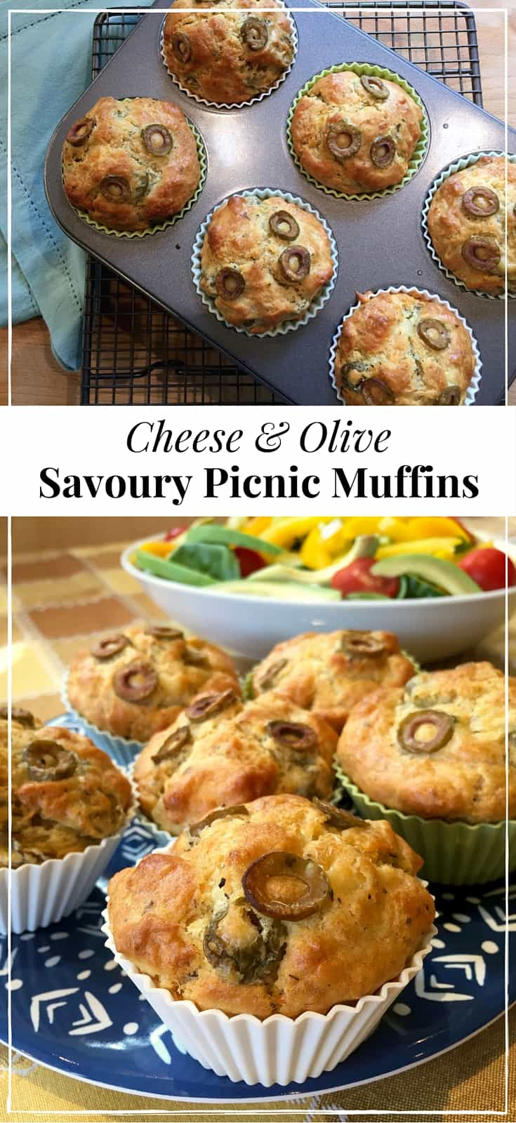 Easy and delicious! Packed with tasty olives and tangy cheese, these fabulous savoury muffins are perfect for picnics and lunch boxes, or as a snack any time.