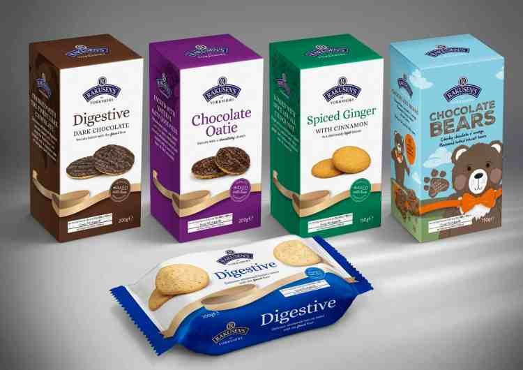 Rakusens sweet biscuit range