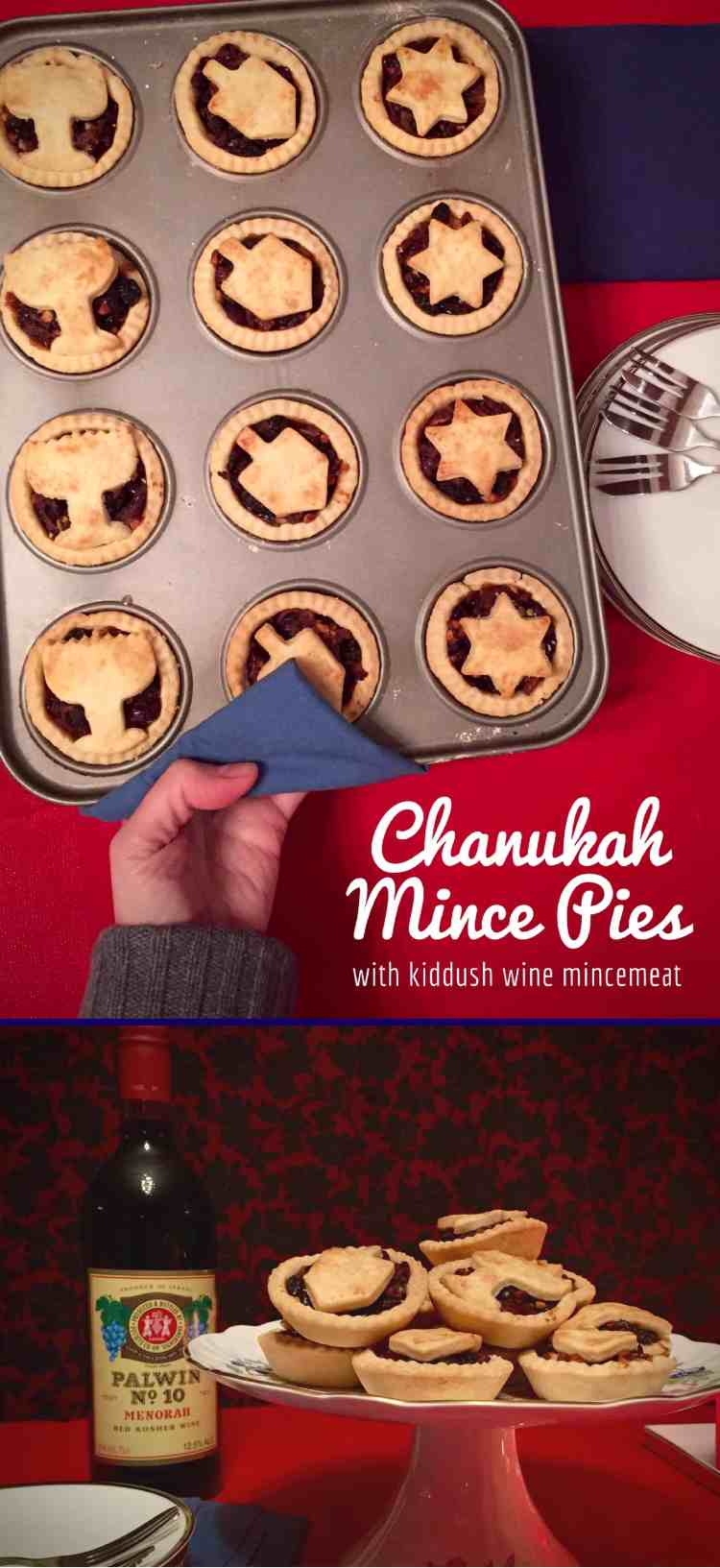 The quick & easy filling for these festive mince pies is fruity, sweet, spicy and delicious, enhanced with kiddush wine and rum! Make a batch today ?