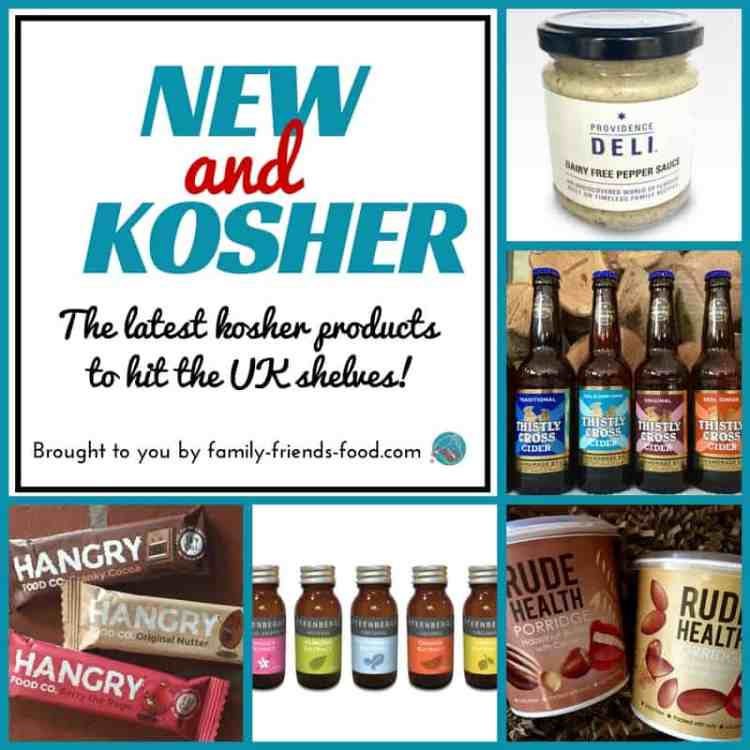 A selection of the delicious new products to hit the UK's kosher shelves - including drinks, snacks, sauces and baking ingredients. Yum!