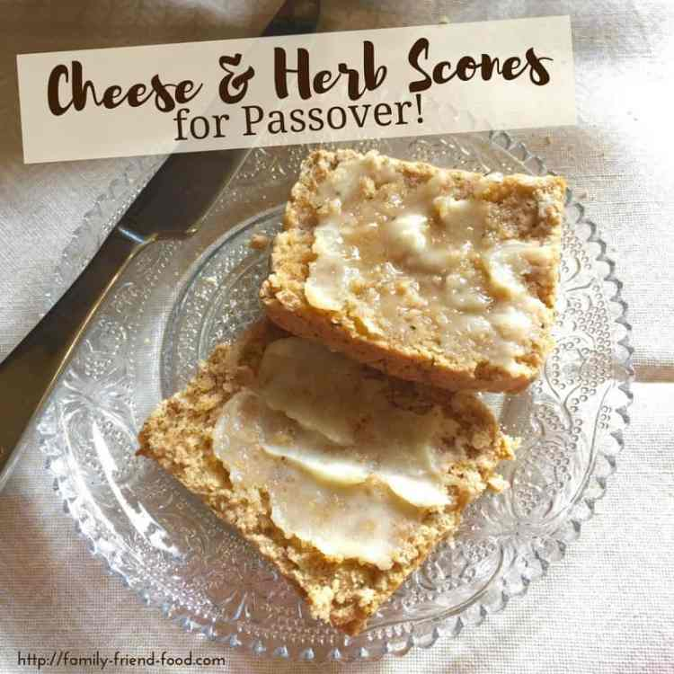 Cheese & Herb Scones for Pesach