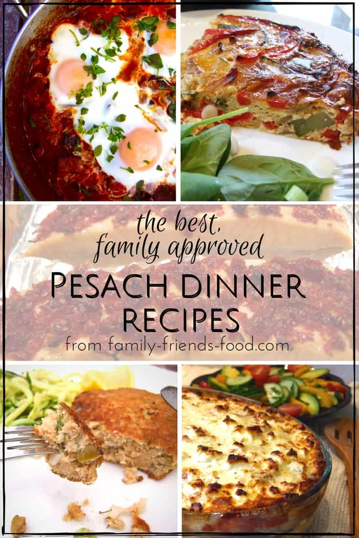 From delicious fish cakes to scrumptious moussaka, gnocchi, & stroganoff, Pesach dinner will never be boring! Treat your family to one of our favourites.