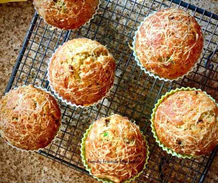 delicious savoury muffins