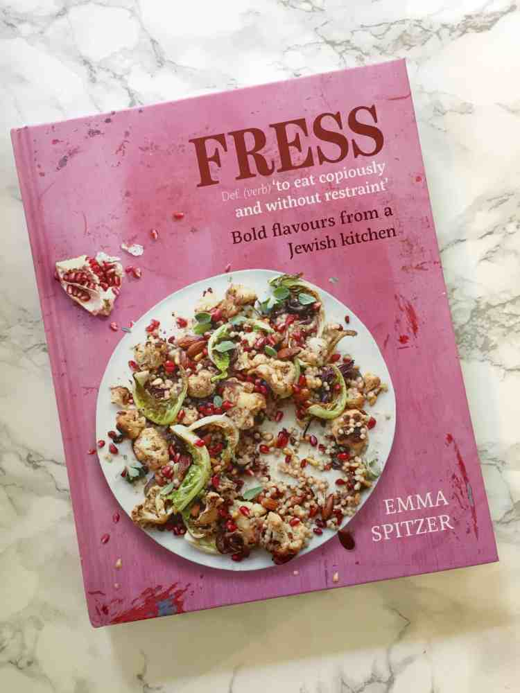 An honest review of Masterchef finalist Emma Spitzer's new recipe book 'Fress - bold flavours from a Jewish kitchen'.