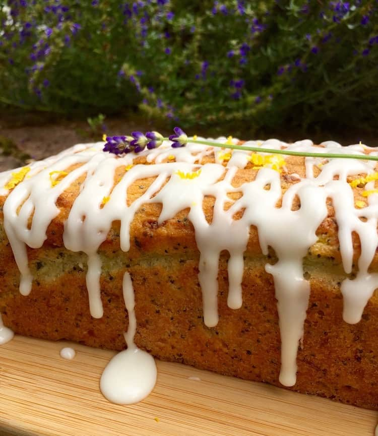 Courgette & poppyseed loaf cake - A gorgeously moist and delicious courgette (zucchini) cake recipe from Kate Hackworthy's book Veggie Desserts + Cakes - plus a book review!