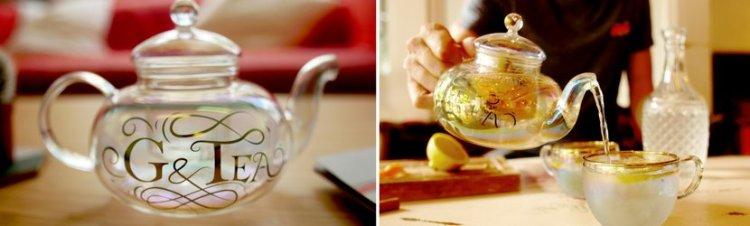 G & Tea gift set