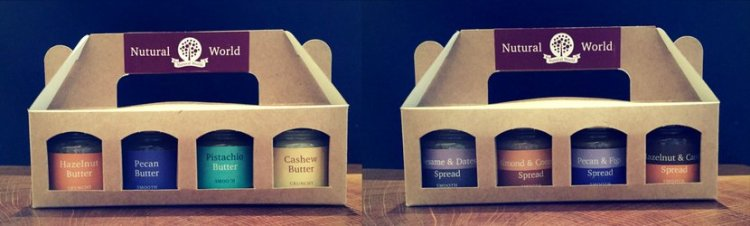 Nutural World nut butters and spreads
