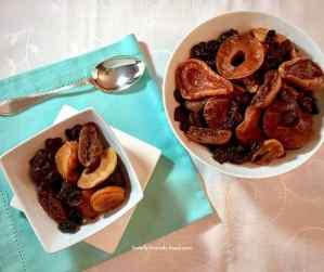 Grandma's dried fruit compote