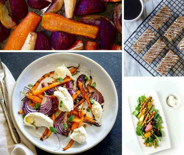 Rosh Hashanah carrot recipes
