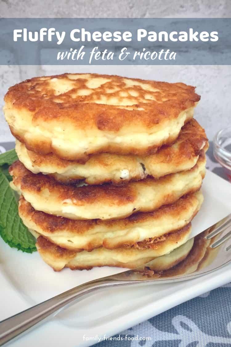 feta cheese pancakes
