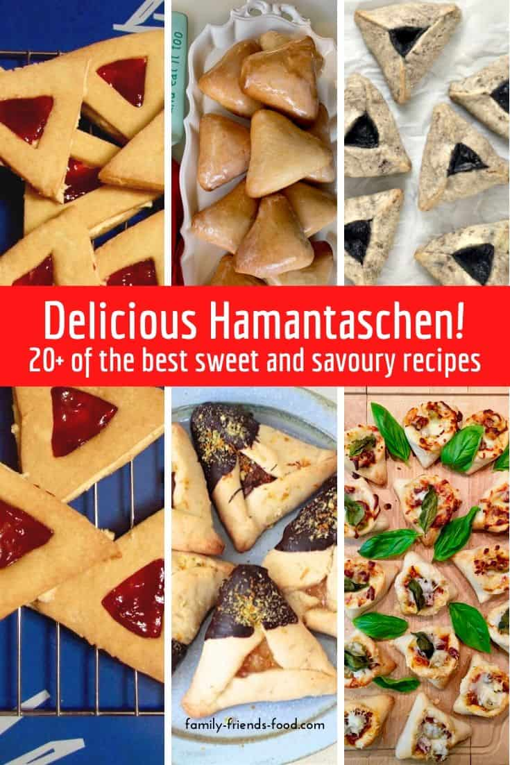 20+ delicious sweet and savoury hamantaschen recipes.