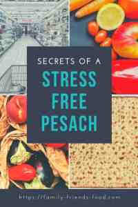 stress free Pesach