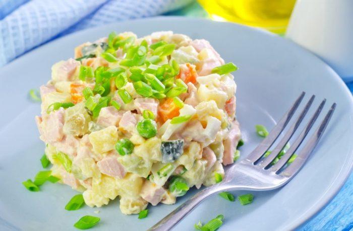 Диетический салат фото 10