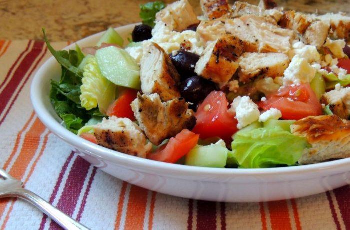 Диетический салат фото 2