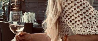 вязаные платья фото 25