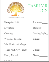 Champlain College Publishing  Banquet Agenda Template