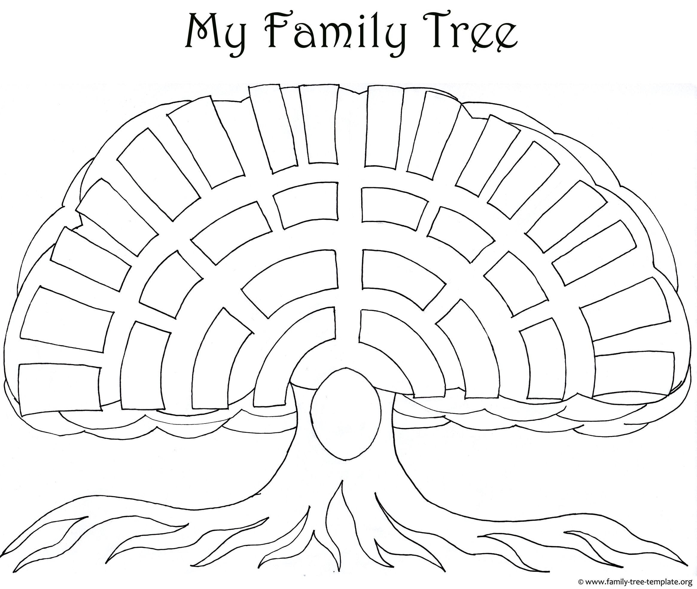how to draw a family tree diagram association in class example parents free colouring pages