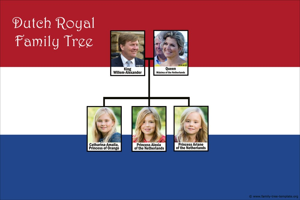 medium resolution of royal dutch family tree with king willem alexander