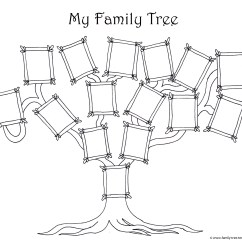 Easy Tree Diagram Worksheet Str Door Entry Wiring Free Family Template Designs For Making Ancestry Charts