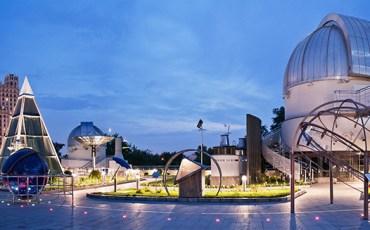 Московский планетарий, Парк Неба, отдых в выходные с детьми