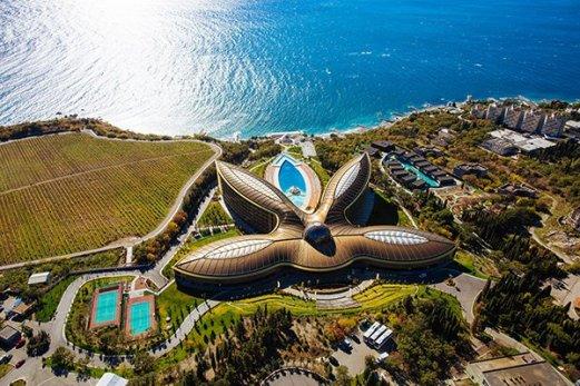 Крым, отель Мрия, бархатный сезон отдых