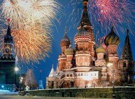 Москва, салют