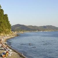 Парк-отель Небуг, пляж