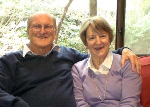 André and Barbara Morkel. September 2011