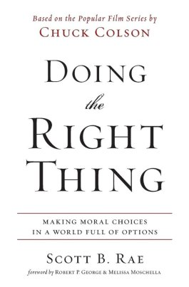 Doing The Right Thing (NETT)