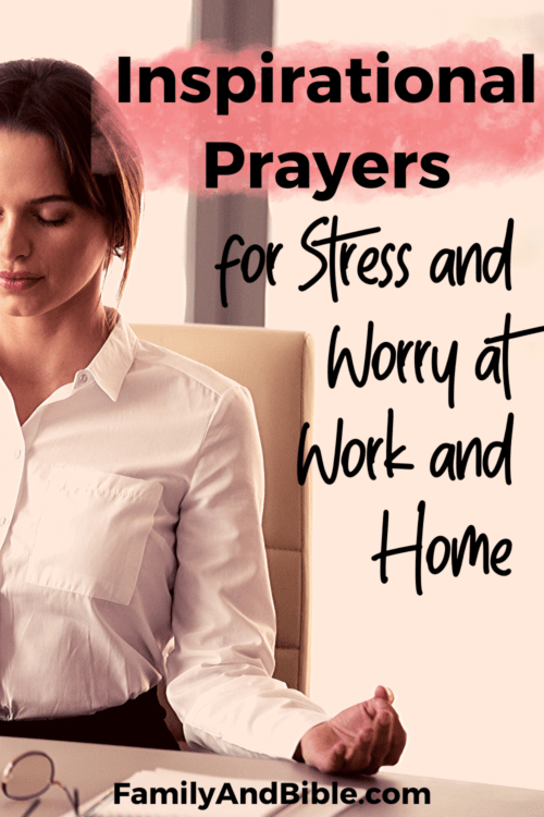 Inspirational Prayers for Stress and Worry