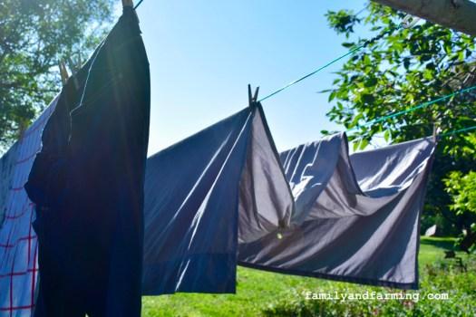 Laundry outside
