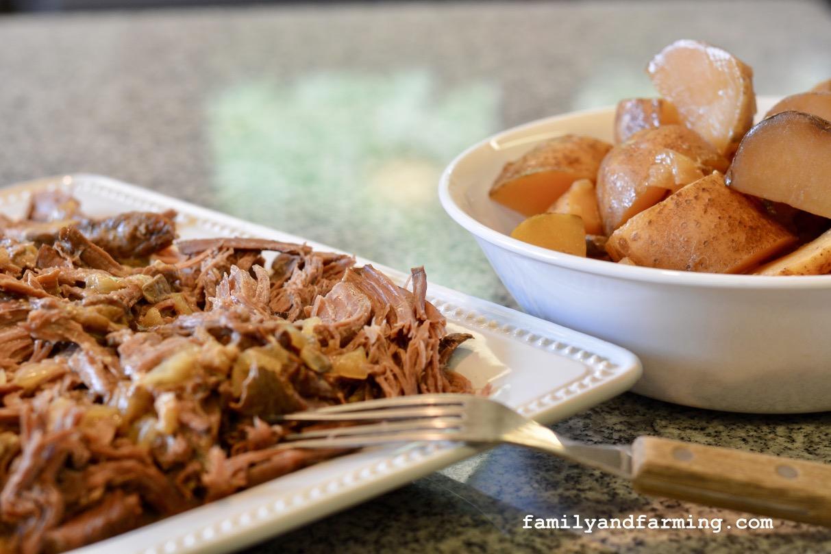 Beef Roast and Potatoes