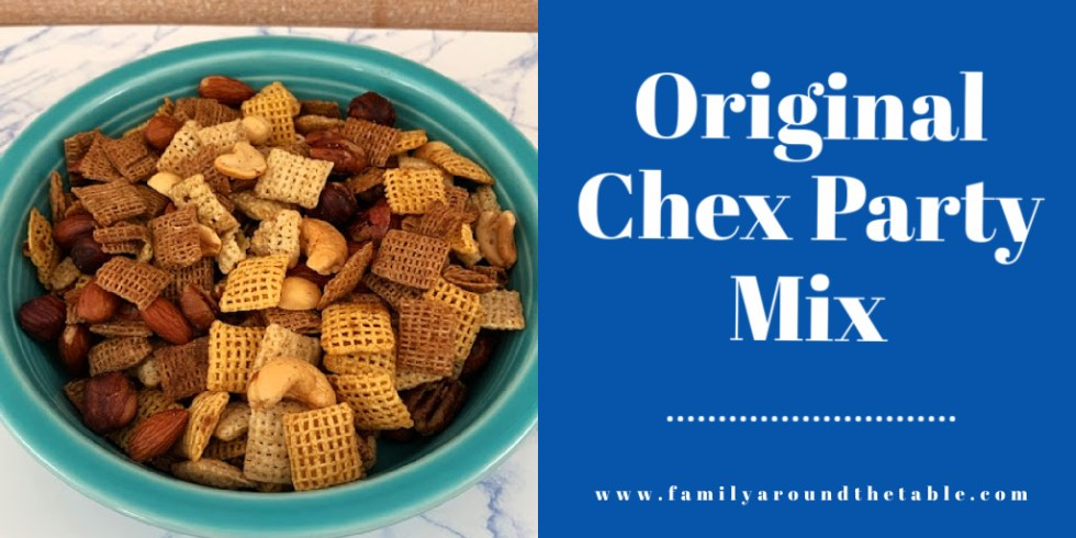 Chex party mix Twitter image.
