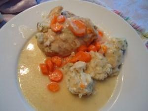 Chicken Fricasse