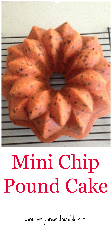 Mini Chip Pound Cake Family Around The Table