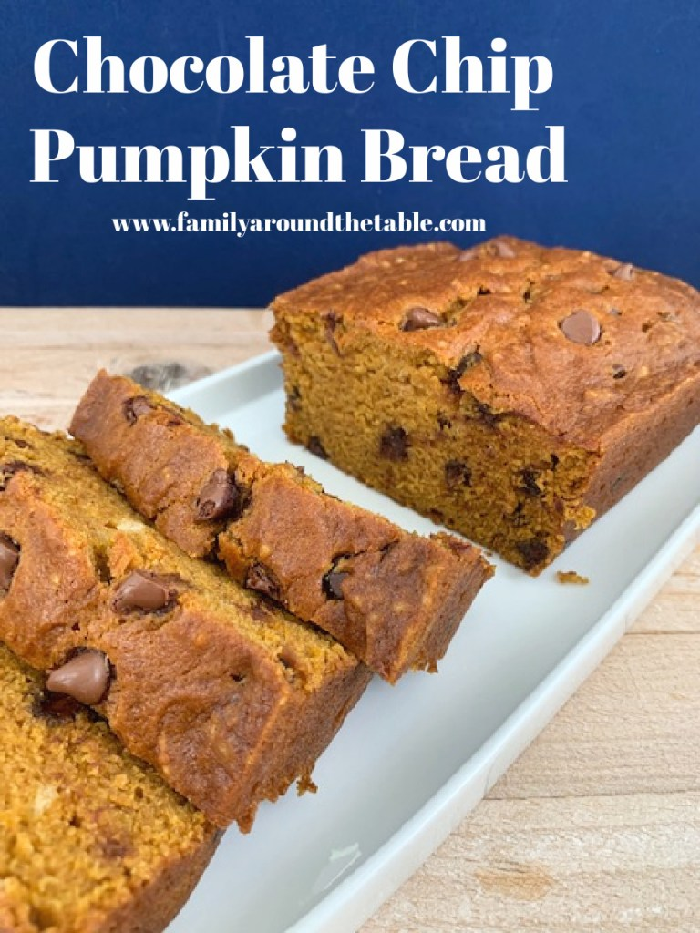 Chocolate Chip Pumpkin Bread Pinterest Image