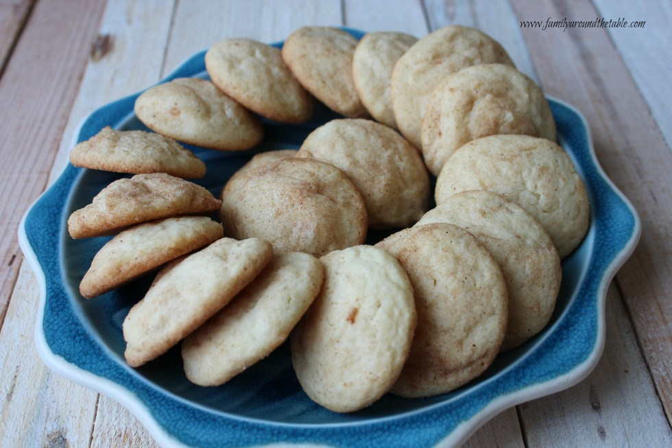 Aunt Deborah's Snickerdoodles, a favorite cookie in out house.