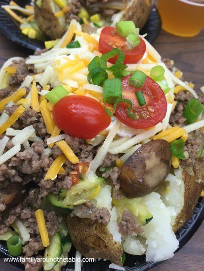 Loaded Cowboy Baked Potatoes