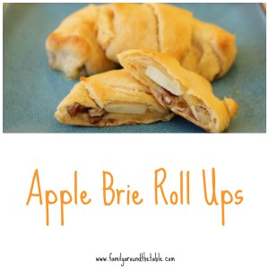 Apple Brie Roll Ups