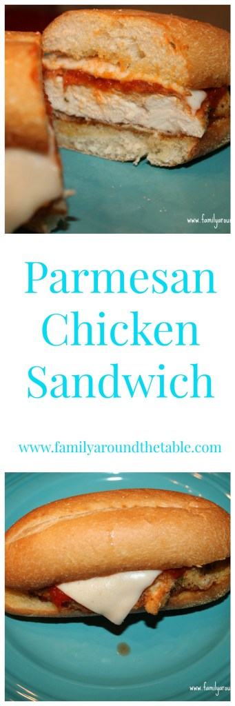 Parmesan chicken sandwiches are an easy weekend lunch or weeknight dinner.