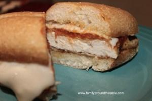 Chicken Parmesan Sandwiches