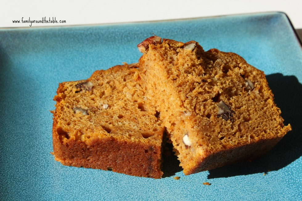 Gigi's Spiced Pumpkin Pecan Bread